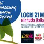 XXII Giornata delle Memoria e dell'Impegno in ricordo delle vittime innocenti delle mafie