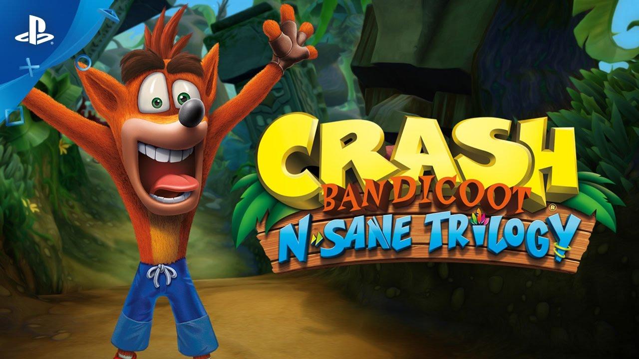 Risultati immagini per Crash Bandicoot: N. Sane Trilogy