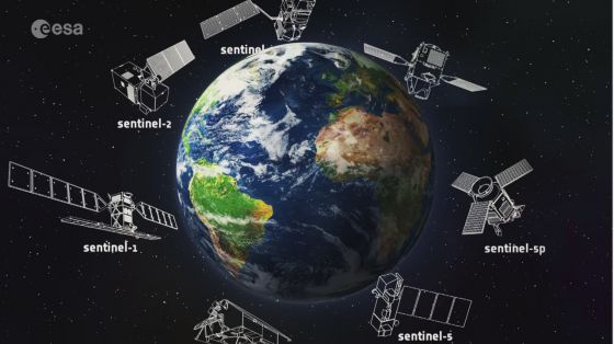 In orbita Sentinel 2Bil satellite che monitorale aree verdi del pianeta