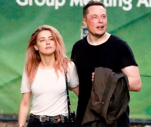 Amber Heard e Elon Musk fanno sul serio