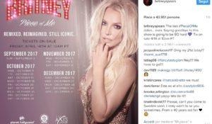 """Britney Spears dice """"addio"""" a Las Vegas. Chiude il Piece of Me tour"""