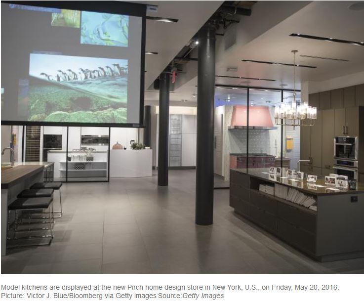 L azienda americana innit ha creato la cucina del futuro - Cucina americana roma ...