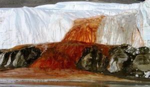 Cascate di sangue, risolto il mistero dell'Antartide e del suo lago