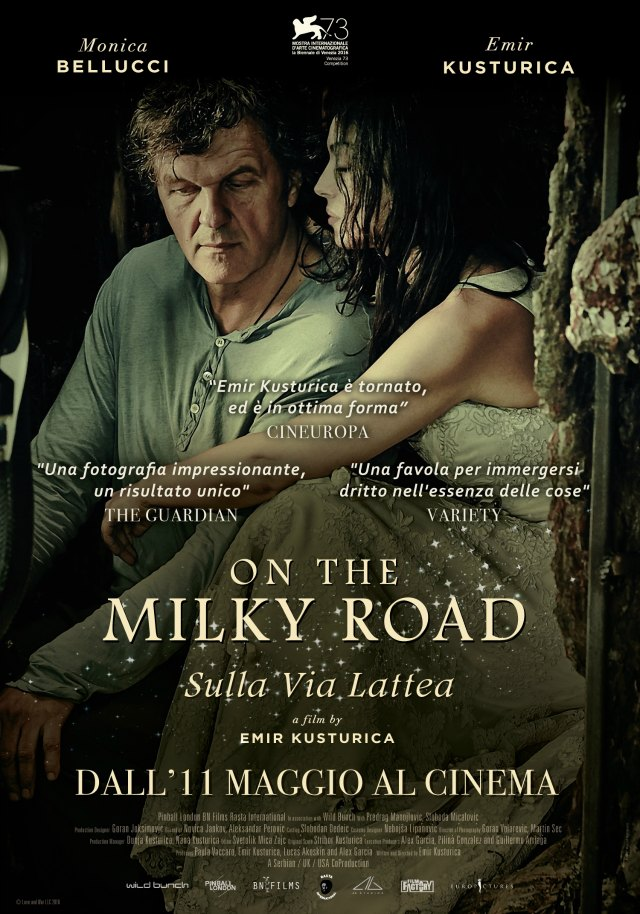 on the milky road monica bellucci