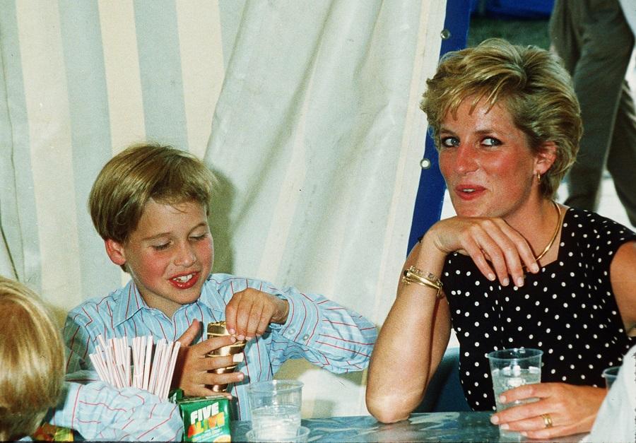 william parla della mamma
