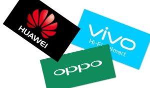 Cresce la vendita di smartphone, Samsung e Apple insediati dai marchi cinesi