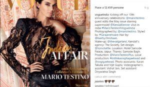 Kendall Jenner su Vogue India. La modella al centro di nuove polemiche