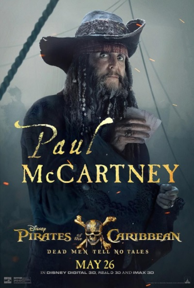 Paul McCartney in Pirati dei Caraibi 5