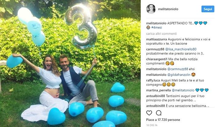 Melita Toniolo, importante annuncio sui social