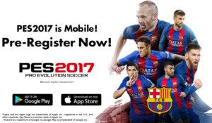 PES 2017 arriva su smartphone: gratis per iOS e Android