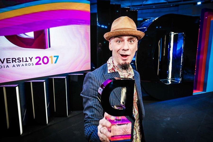 È J-Ax il Personaggio dell'anno dei Diversity Media Awards 2017