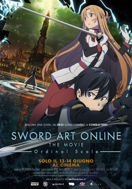 Sword Art Online. The Movie. Ordinal Scale