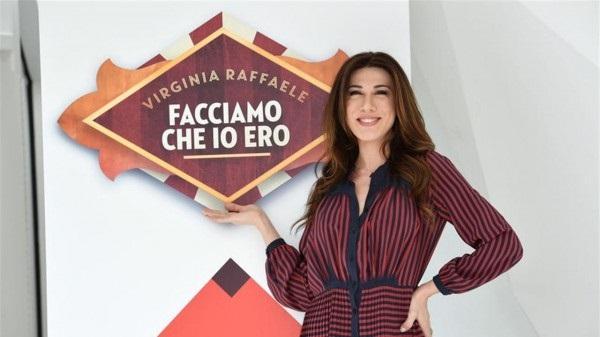 Virginia Raffaele in Facciamo che io ero