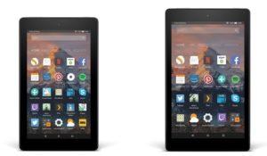 Fire 7 e Fire HD 8, ecco i nuovi tablet di Amazon