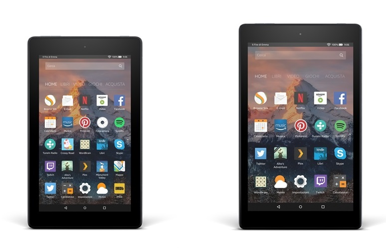 nuovi tablet di amazon