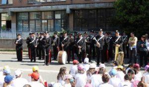Carabinieri all'istituto Puccini di Roma per musica e legalità
