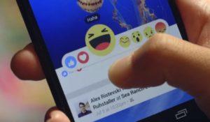 Le reactions di Facebook invadono anche i commenti