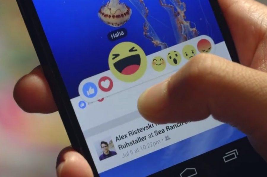 reactions di Facebook