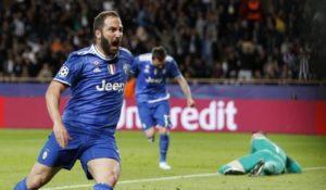 Champions League, la Juve sbanca Monaco con una doppietta di Higuain