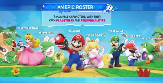 Mario + Rabbids Kingdom Battle: immagini e dettagli sul crossover
