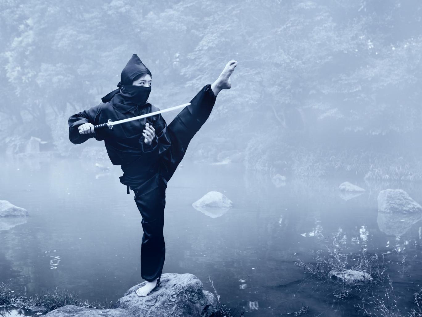 diventare un ninja