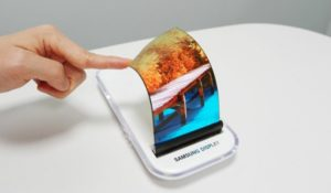 Il display flessibile Samsung diventa elastico