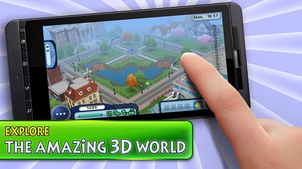 The Sims per smartphone