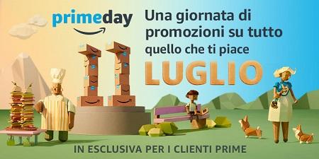 Amazon Prime day martedì 11 luglio