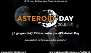 Asteroid Day 2017: al via gli eventi e le dirette in Italia e nel Mondo