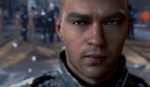 Detroit: Become Human. Jesse Williams personaggio da videogioco per Quantic Dreams