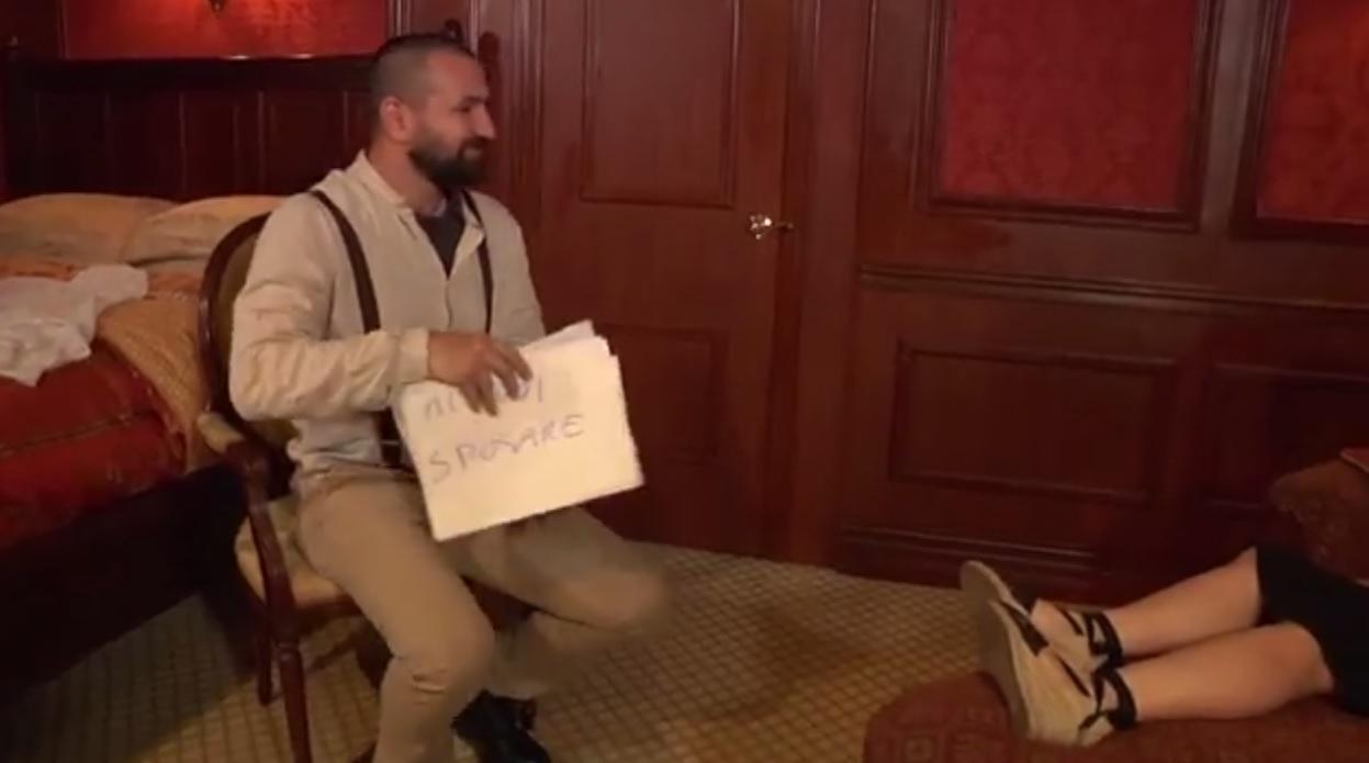 proposta di matrimonio in stile titanic