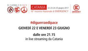 XVI Incontro nazionale di Emergency in diretta web – #diguerraedipace