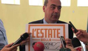 """Zingaretti: """"Lunedì mobilitazione in scuole contro violenza donne"""""""