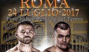 Boxe, il match De Carolis vs Polyakov al Foro Italico di Roma