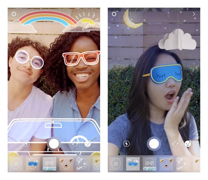 Instagram Stories: arrivano i nuovi filtri facciali a tema estivo
