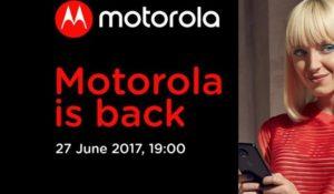 Chi non muore si rivede, Motorola nuovi smartphone per i milioni di fan