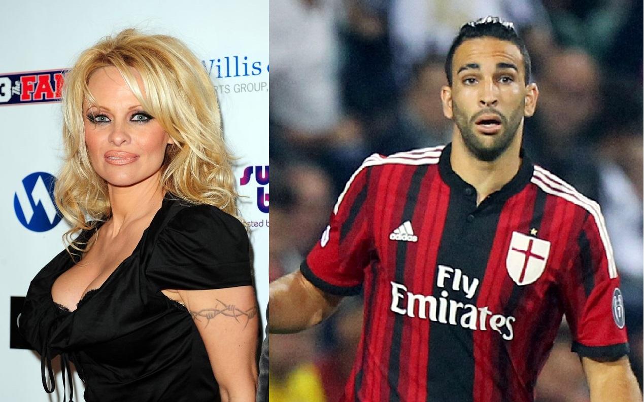 Pamela Anderson ora esce con Adil Rami