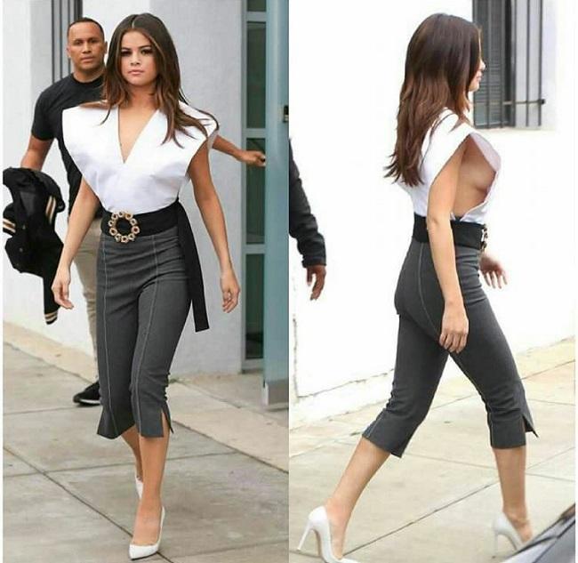 Selena Gomez scollatura
