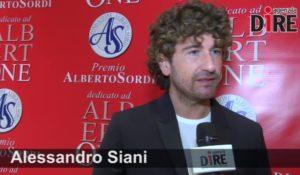 """Premio Alberto Sordi. Alessandro Siani: """"Con Sordi avrei girato 'In viaggio con papà'"""""""