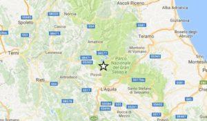 Terremoto, scossa di magnitudo 3.9 in provincia di L'Aquila