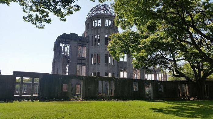 monumento della pace hiroshima