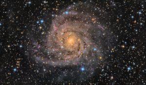 Hubble fotografa la galassia nascosta tra le polveri della Via Lattea