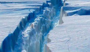 Gigantesco iceberg si stacca dall'Antartide. E' grande come la Liguria il video