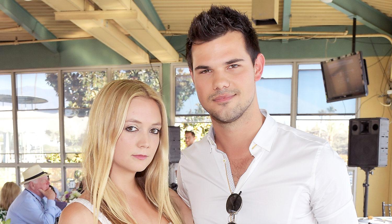 Taylor Lautner e Billie Lourd