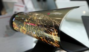 Il futuro dei televisori è negli avvolgibili OLED LG