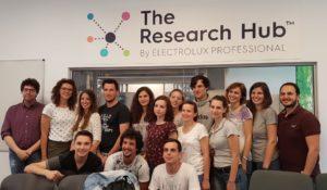 Al Research Hub di Electrolux gli studenti dell'Università di Udine danno vita al cibo 4.0