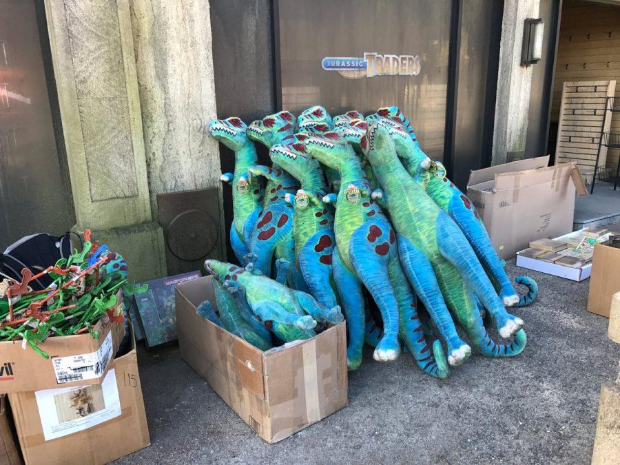 riprese di Jurassic World