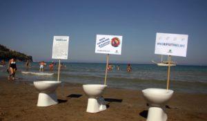 #NoRifiutinelWC, la campagna salva-mare di Legambiente