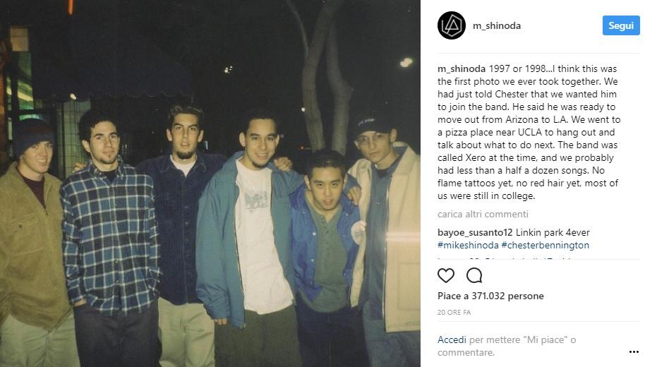 prima foto dei Linkin Park