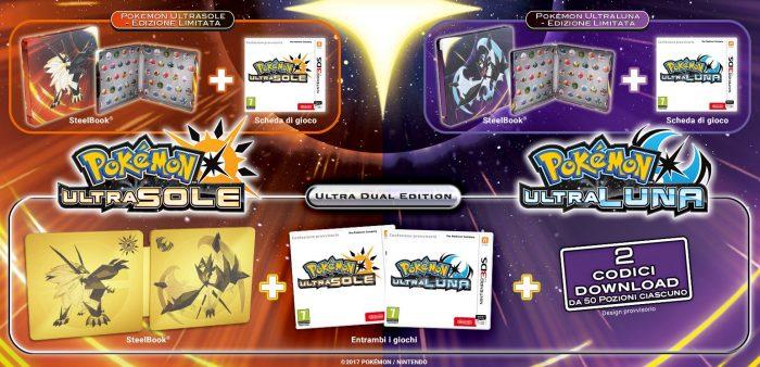 pokémon ultrasole e ultraluna edizione speciale